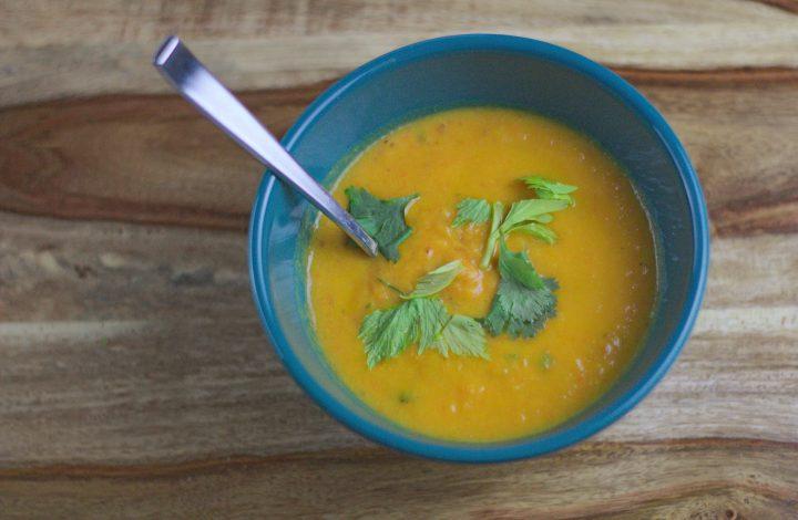 Carrot – Cilantro Soup