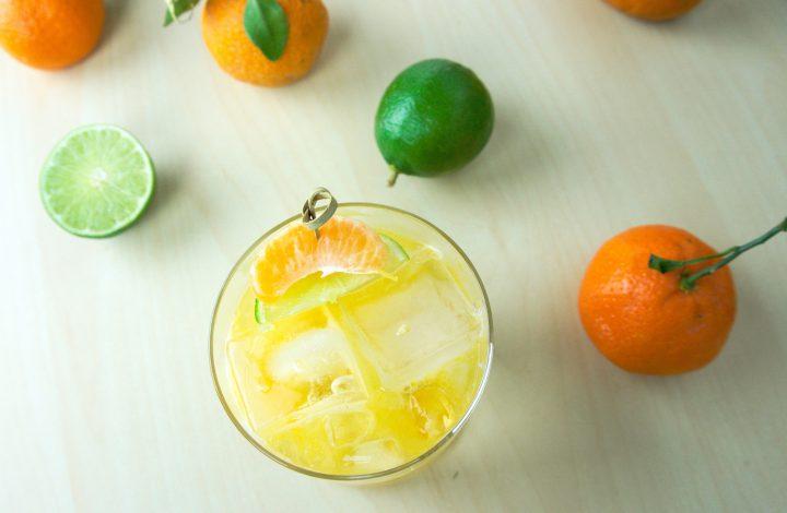 Spicy Satsuma Margarita